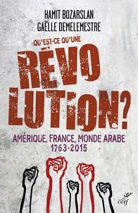 Hamit Bozarslan et Gaëlle Demelemestre - Qu'est-ce qu'une révolution ? - Amérique, France, monde arabe, 1763-2015.