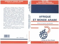 Hammouda Amin/ben - Afrique et monde arabe - echec de l'insertion internationale.