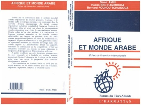 Hammouda Amin/ben - Afrique et monde arabe - echec de l'insertion internationale.