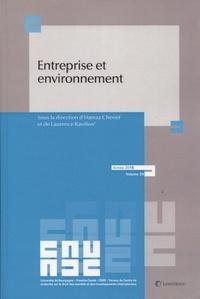 Entreprise et environnement - Hamza Cherief |