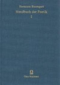 Handbuch der Poetik - Eine kritisch-historische Darstellung der Theorie der Dichtkunst.
