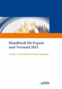Handbuch für Export und Versand 2013.