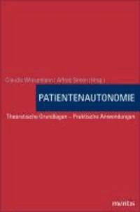 Handbuch Patientenautonomie - Theoretische Grundlagen - Praktische Anwendungen.