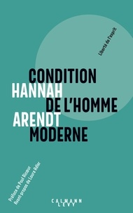 Téléchargement gratuit de google books Condition de l'homme moderne ePub par Hannah Arendt 9782702165362 in French