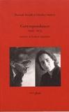 Hannah Arendt et Günther Anders - Correspondance (1939-1975) suivie d'écrits croisés.