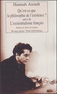 Birrascarampola.it Qu'est-ce que la philosophie de l'existence ? - Suivi de L'existentialisme français et de Heidegger le renard Image