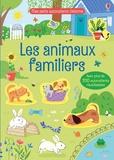 Hannah Watson et Malu Lenzi - Les animaux familiers - Avec plus de 200 autocollants réutilisables.