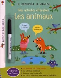 Hannah Watson et Anna Süssbauer - Mes activités effaçables Les animaux - Avec un feutre à encre effaçable.
