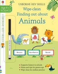 Hannah Watson et Marta Cabrol - Wipe-clean Finding out about Animals.