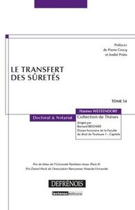 Hannes Westendorf - Le transfert des sûretés.