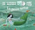 Hans Christian Andersen et Charlotte Gastaut - La petite sirène. 1 CD audio