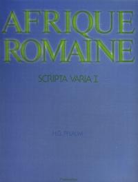 Scripta varia - Tome 1, Afrique romaine.pdf