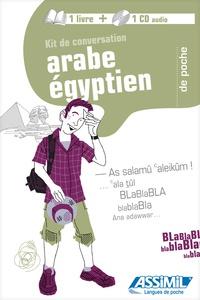 Hans-Günter Semsek et Nagwa Hassan - Kit de conversation Arabe egyptien. 1 CD audio