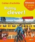 Hans Halberstadt et Adeline Goyat - Cahier d'activités Allemand 3e année Richtig clever !.