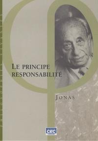 Hans Jonas - Le principe responsabilité.