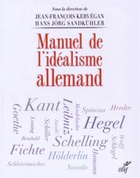 Histoiresdenlire.be Manuel de l'idéalisme allemand Image