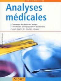 Hans-Peter Seelig et Marion Meiners - Analyses médicales - Claires et compréhensibles.
