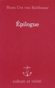 Hans Urs von Balthasar - Epilogue.