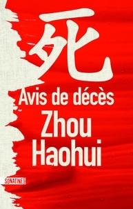 Haohui Zhou - Avis de décès.