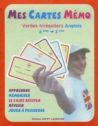 Happy Learning - Mes Cartes Mémo - Verbes Irréguliers Anglais.