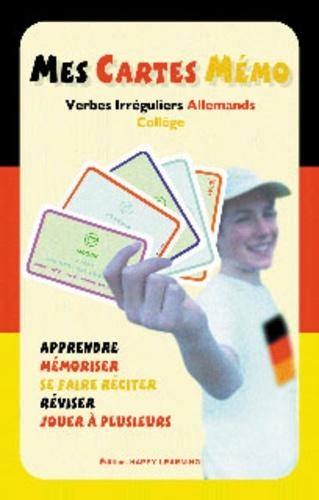 Happy Learning - Mes cartes mémo - Verbes irréguliers Allemands Collège.