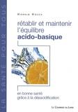Harald Hosch - Rétablir et maintenir l'équilibre acido-basique.