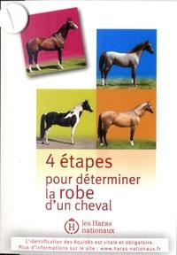 Haras nationaux (France) - 4 étapes pour déterminer la robe d'un cheval.