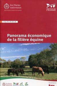 Haras nationaux (France) - Panorama économique de la filière équine.
