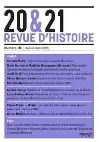 Raphaëlle Branche - 20&21 N° 145-148, janvier- : .