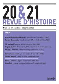 Sciences Po - 20&21 N° 148 : Revue d'histoire.