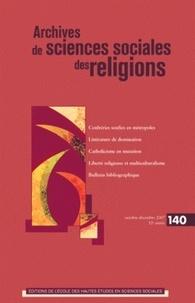 André Mary - Archives de sciences sociales des religions N° 140, Octobre-Déce : .