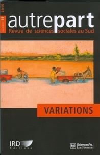 Marc-Antoine Pérouse de Montclos et Sylvia Becerra - Autrepart N° 55/2010 : Variations.