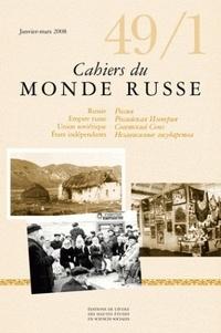 Alain Besançon et Cécile Pichon-Bonin - Cahiers du Monde russe N° 49/1, Janvier-Mar : .