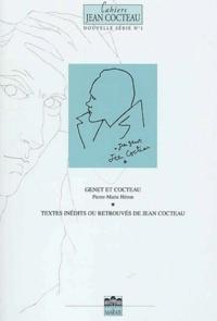 Pierre-Marie Héron et  Collectif - Cahiers Jean Cocteau N° 1 : Genet et Cocteau - Textes inédits ou retrouvés de Jean Cocteau.