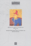 Brigitte Borsaro - Cahiers Jean Cocteau N° 2 : Jean Cocteau : le cirque et le music-hall.