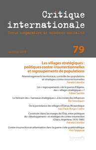 Revue - Critique internationale N° 79 : .