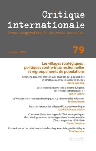 Revue - Critique internationale N° 79 : .