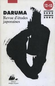 Christophe Gonzales et Teresa Lacerda - Daruma N° 12 et 13, Automne : .
