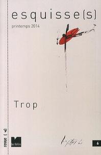 Antoine Nastasi - Esquisse(s) N° 6, Printemps 2014 : Trop.