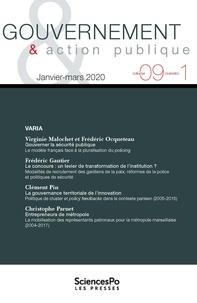 Sciences Po - Gouvernement & action publique Volume 9 N° 1 : .