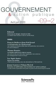 Sciences Po - Gouvernement & action publique Volume 9 N° 2, août  : .