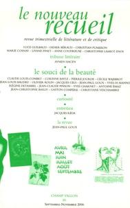 Jean-Michel Maulpoix - Le nouveau recueil N° 80, septembre-nov : .