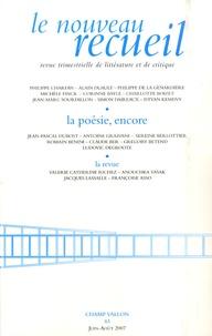 Jean-Michel Maulpoix et Benoît Conort - Le nouveau recueil N° 83, juin-août 07 : .