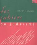 Cédric Cohen Skalli et Samuel Werses - Les cahiers du judaïsme N° 28/2010 : Interdits et exclusions.
