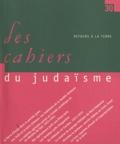 Pierre Birnbaum - Les cahiers du judaïsme N° 30/2010 : Retours à la terre.