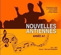 Agnès Groslambert - Nouvelles antiennes pour les psaumes des dimanches et fêtes année. 1 CD audio