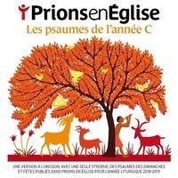 Anonyme - Prions en Eglise petit format  : Les psaumes de l'année C.