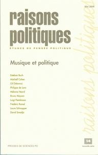 Jean-Marie Donegani - Raisons politiques N° 14 Mai 2004 : Musique et politique.