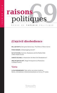 Revue - Raisons politiques N° 69 : .