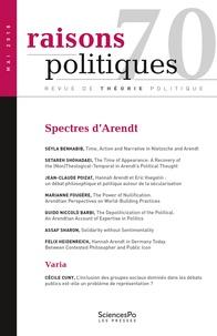Revue - Raisons politiques N° 70 : .